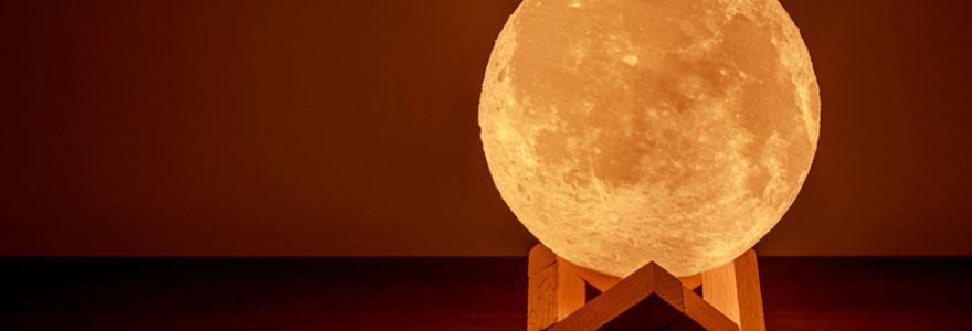 Bien choisir sa lampe lune