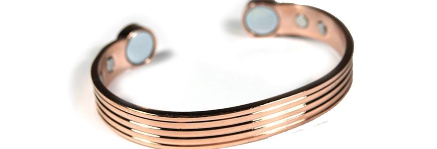 Bracelet magnétique cuivre